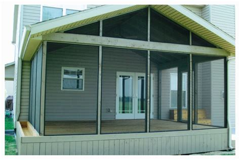 How To Enclose A Screened In Porch by Decks Unlimited Screened Porches Sheds