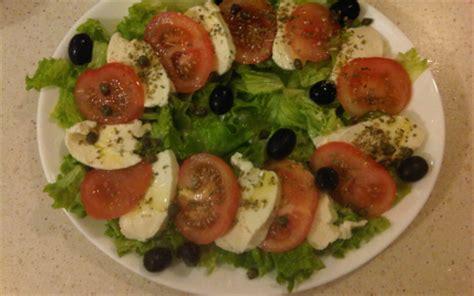 cuisiner la salade verte recette salade tomate mozzarella 750g