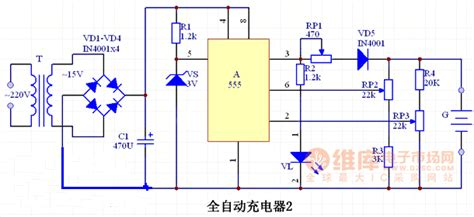 555 ic automatic battery charger circuit diagram2