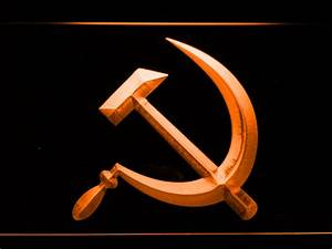 Hammer and Sickle LED Neon Sign