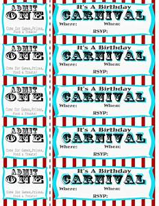 Seeshellspace carnival free carnival circus birthday for Carnival tickets template free printable