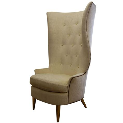 custom gudinna barrel wing chair for sale at 1stdibs