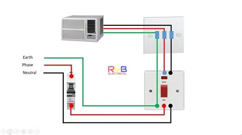 Window Wiring Connection Diagram Ryb Electrical House