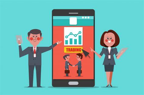 trading des entraineurs professionnels concept design
