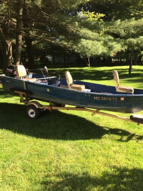 Fishing Boat And Motor Packages by Fishing Boat Motor Trailer Package For Sale In Niles