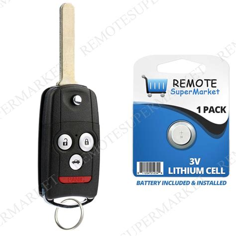 replacement for acura 2009 2014 tl tsx 2010 2013 zdx remote car flip key fob ebay