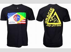Gracie JiuJitsu Flag TShirt – FighterXFashioncom