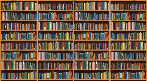 Bookshelf Wallpaper Group With 47 Items