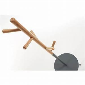 Porte Manteau Metal : table porte manteau design en bois nerb par ~ Teatrodelosmanantiales.com Idées de Décoration