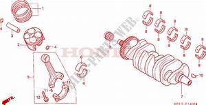 Crankshaft  Piston For Honda Cbr 600 Rr 2005   Honda Motorcycles  U0026 Atvs Genuine Spare Parts Catalog