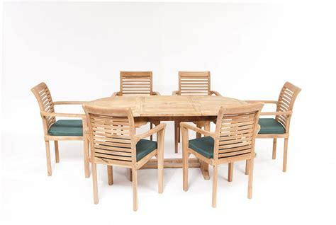 paris teak dining set teak garden furniture humber imports