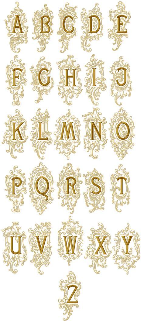 medieval splendor alphabet