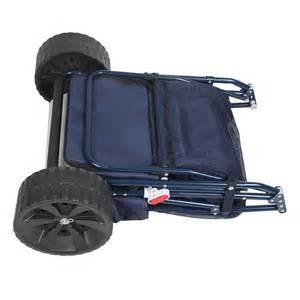 Folding Beach Cart with Cooler