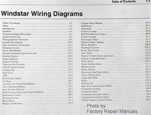 2002 Ford Windstar Electrical Wiring Diagrams Original