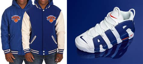 Nike Air More Uptempo Knicks Jackets | SneakerFits.com