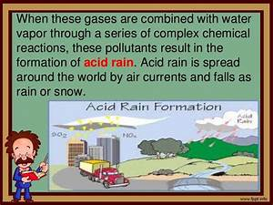 Causes of Acid Rain and Its Effects
