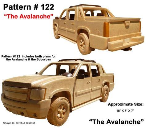 Wood Vehicle Plans