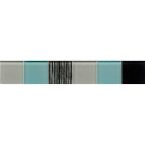 tiles bunnings johnson tiles 300 x 50mm aqualite glass wall border tile