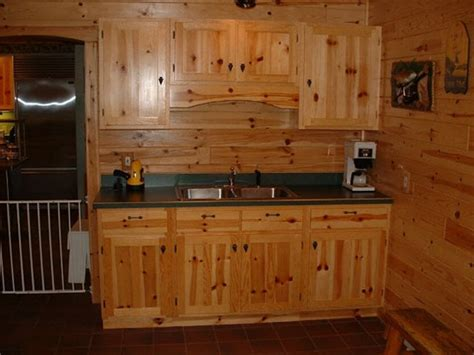 Knotty Pine Cabinets Home Depot  Loccie Better Homes