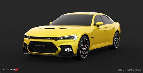 2019 Dodge Charger Srt Hellcat Super Sedan Envisioned