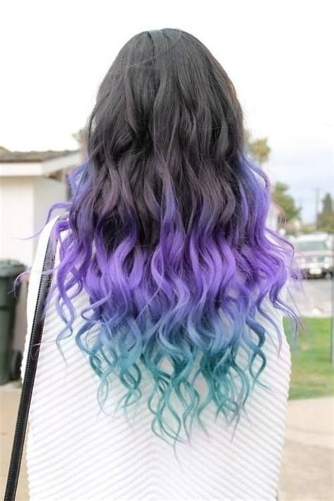 colored tips 1000 ideas about colored hair tips on pastel