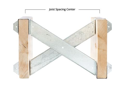 floor joist bridging requirements x brace dimensional alliance structural product sales corp