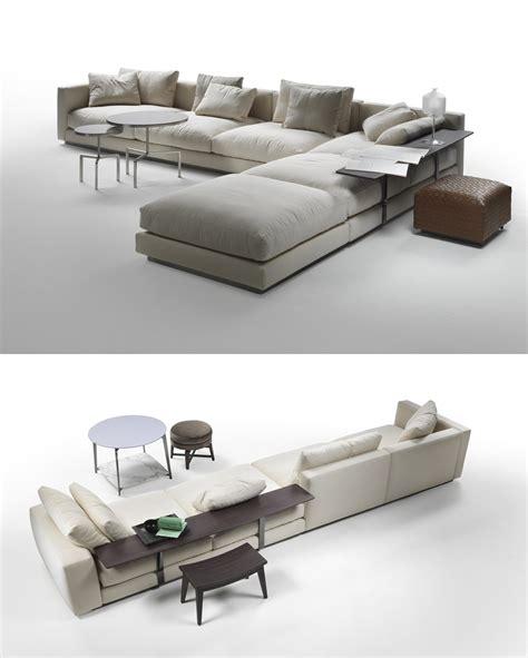 tavolini divano divani con piani d appoggio integrati cose di casa