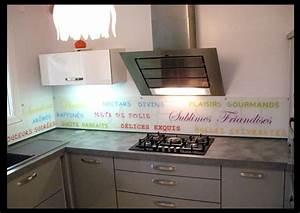 Credence Plaque De Cuisson : cr dences de cuisine d cor es en verre tremp imprim ~ Dailycaller-alerts.com Idées de Décoration