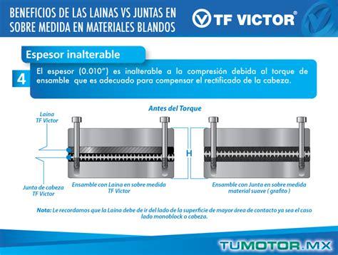 beneficios de las lainas contra juntas en sobre medida en materiales blandos tumotor mx