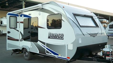 lance  small travel trailer   lb youtube