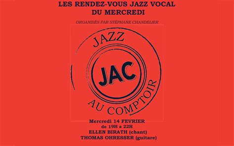 au grand comptoir jazz au comptoir vocal mercredi 14 f 233 vrier 2018 19 00