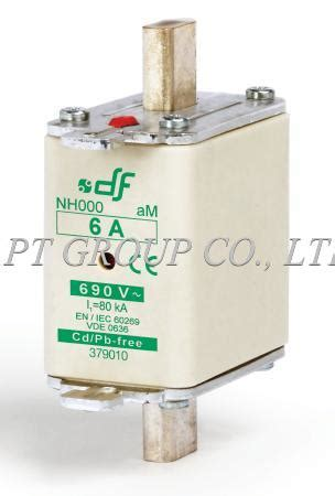 df electric nh000 nh fuse links hrc gl gg am 690v