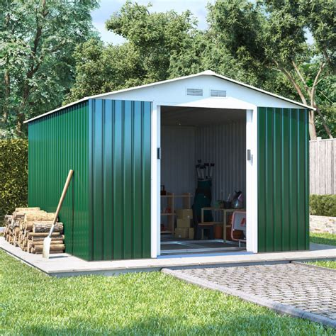Buy A Shed Uk by Billyoh Boxer Apex Metal Shed Metal Garages Garden