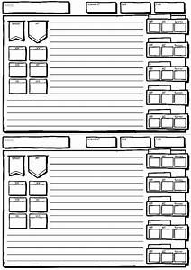 Dungeons And Dragons 5e Compatible Monster Tracking Sheet