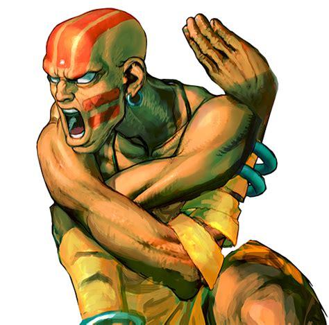 The Great Master Of Yoga Dhalsim Street Fighter 4