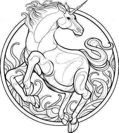 Dibujos De Unicornios 🦄 】bonitos Para Colorear Y Dibujar