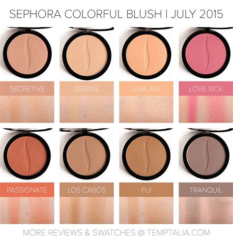 Sephora Blush On sneak peek sephora colorful blushes sephora extensions