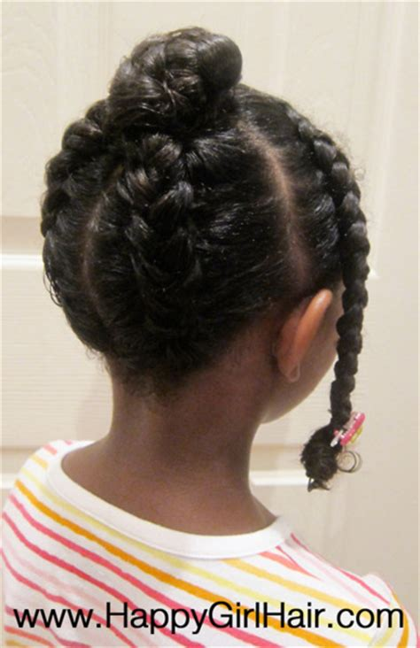 protective style for daughters going natural then again
