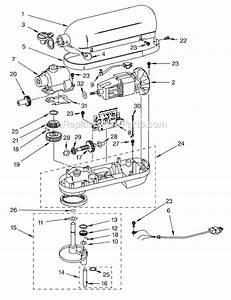 Kitchenaid 6 Quart Mixer Parts List  U2013 Besto Blog