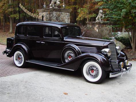 1935 Buick Custom 4 Door Sedan 66498