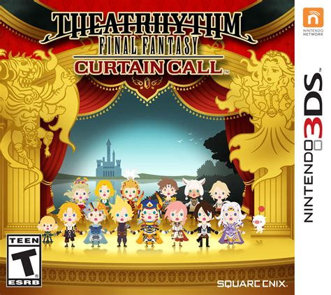 theatrhythm curtain call differences e3 2014 new theatrhythm curtain call trailer