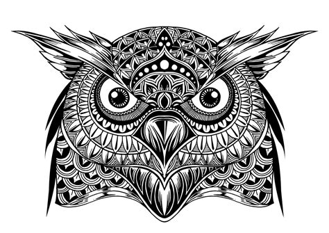 Have a white design, please change the background for more clarity (file eps and ai let you edit the size as you like). OWL MANDALA VECTOR CDR FILE FREE - Download Free Vector ...