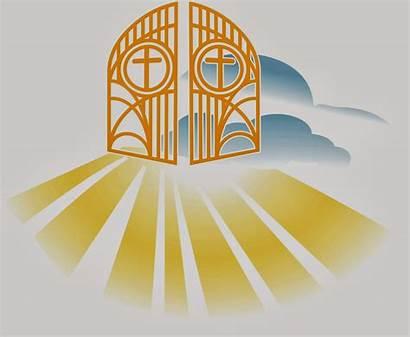 Heaven Clipart Heavenly Gates Kingdom Clip God
