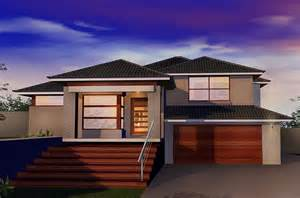 decorative split level residence nsw home designs home and landscaping design