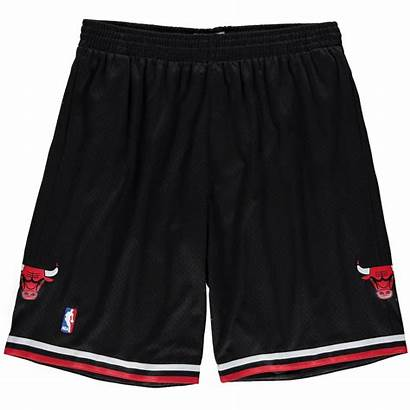 Bulls Chicago Shorts Ness Mitchell Hardwood Classics