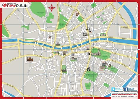 Carte De Pdf by Plan Gratuit De Dublin Pdf 224 T 233 L 233 Charger