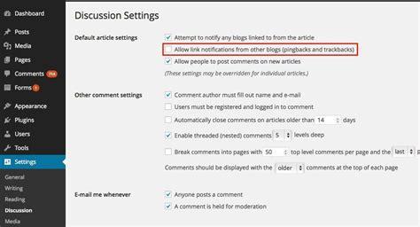 How To Prevent Trackback Spam In Wordpress