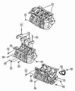 2008 Dodge Nitro Engine  Long Block  Remanufactured  Group
