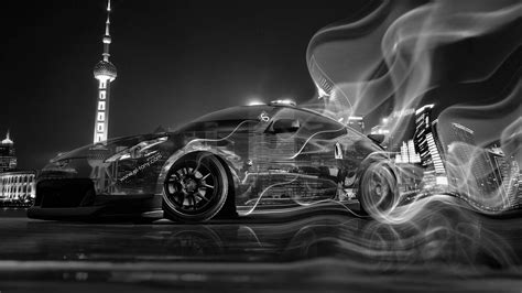nissan  jdm crystal city smoke drift car  el tony