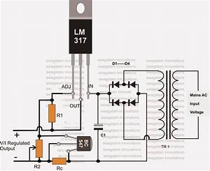 12v Battery Charger Circuits  Using Lm317  Lm338  L200